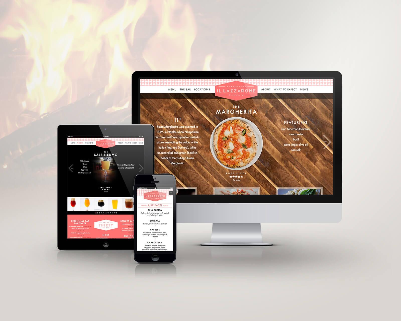 responsive website design and development