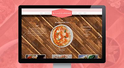 il-lazzarone-website-design and development