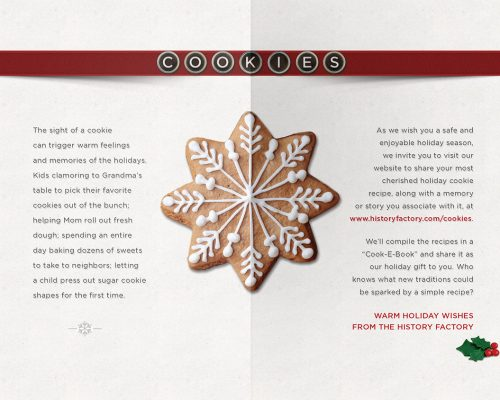 The History Factory | Holiday Card