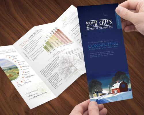 Bone Creek Membership Brochure and Card
