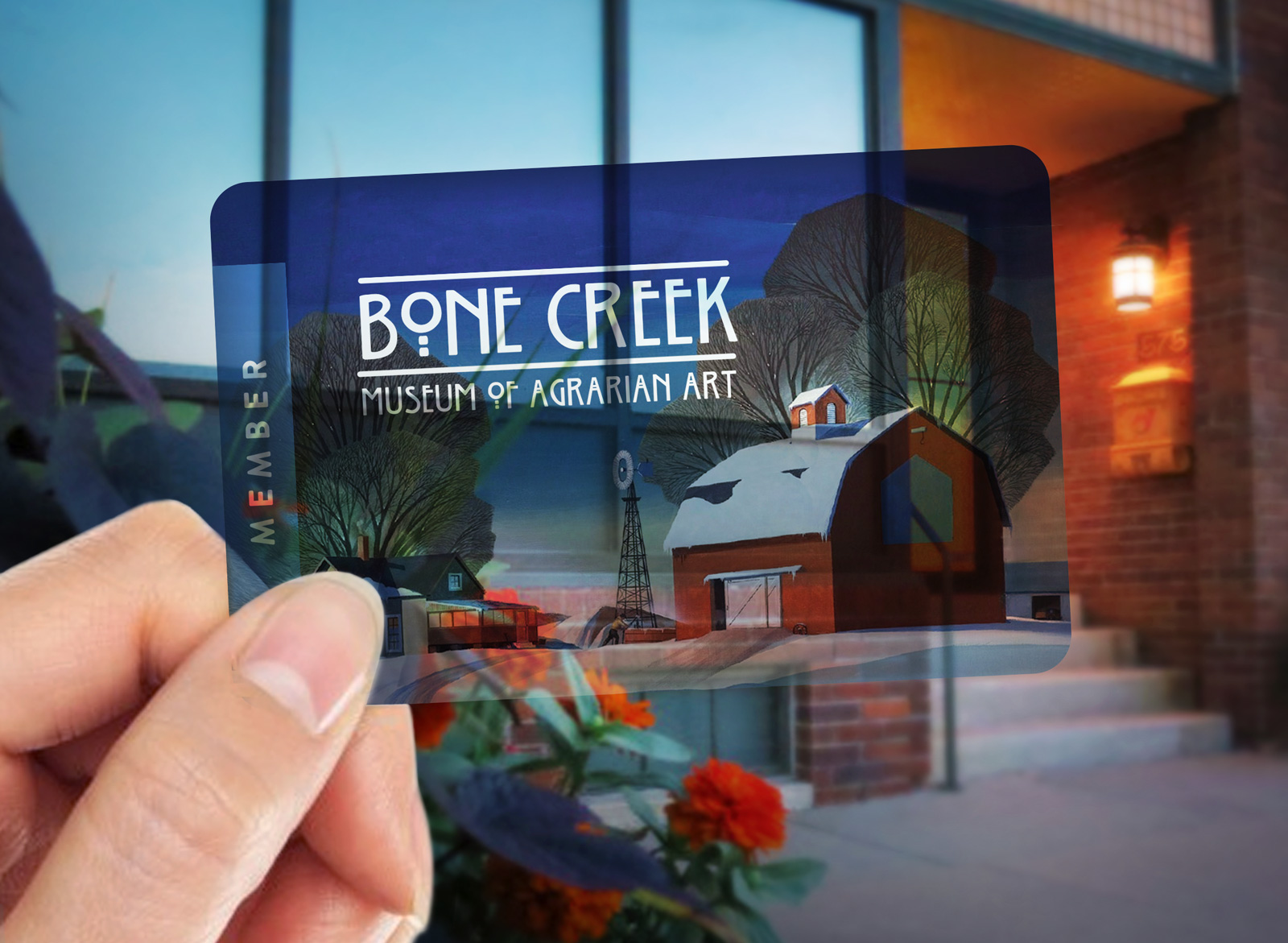 Bone-Creek-Museum-membership-card-exterior