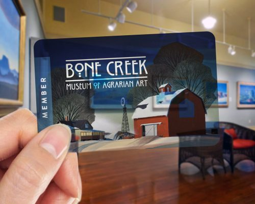 Bone Creek Membership Card Arrived