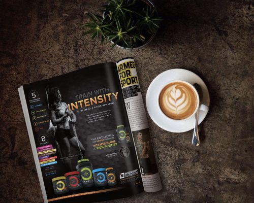 Intensity Nutrition Print Ads