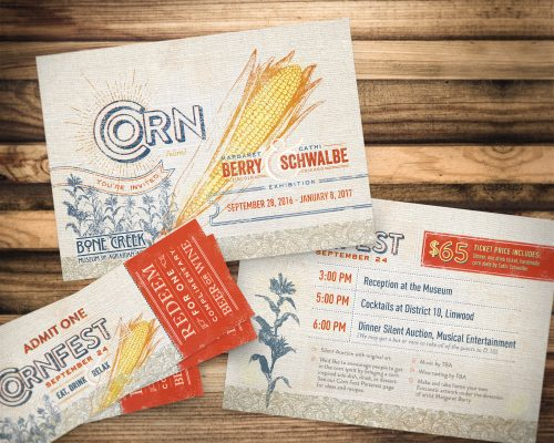 Corn Exhibition & Cornfest Invitation