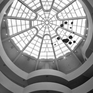 Guggenheim-Museum-Frank-Lloyd-Wright-New-York-City-Aug-2012-1bw