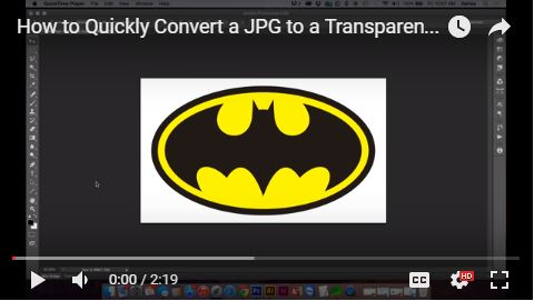 How to Quickly Convert a JPG to a Transparent PNG in Adobe Photoshop