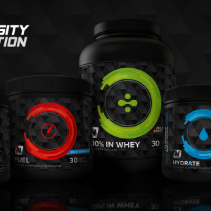Intensity Nutrition Web Banners