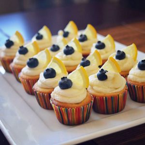 Lemon-Blueberry-Mini-Cupcakes