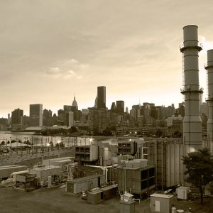 New-York-City-Skyline-vintage-sepia-sunset-Aug-2012