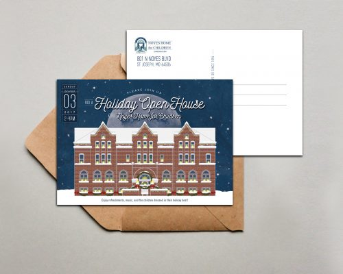 Noyes Home for Children Holiday Card