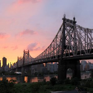 Queensboro-Bridge-sunset-panorama-New-York-City-Aug-2012