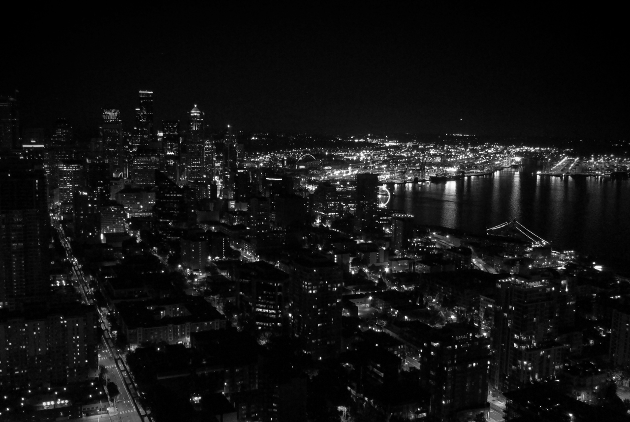 Seattle-night-skyline-from-Space-Needle-Aug-2015-crop