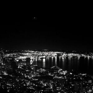 Seattle-night-skyline-from-Space-Needle-Aug-2015-panorama