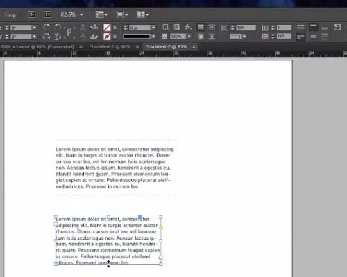 Adobe InDesign – Add Border (aka rule) to One or Two sides of a Text Box