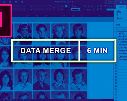 Data Merge Photos/Images into Grid in InDesign Without Plugin (6-minute Video)