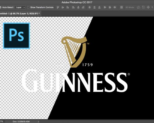 Remove the background from a logo in Photoshop (in under 30 seconds)