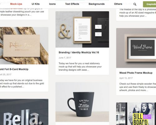 7 Websites to Get Free High Quality Mock Ups