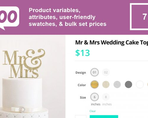 Woocommerce Essentials – Attributes, Variable Products, and Color Swatches (Free)